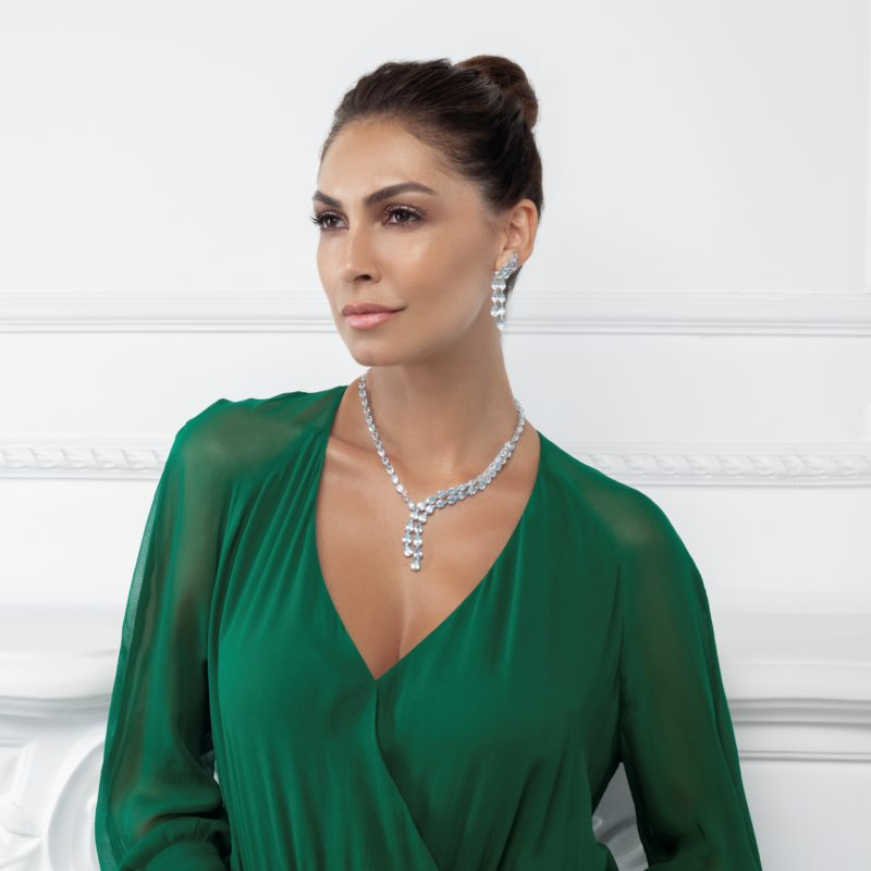 Collar oro blanco A50-C73G-43:01
