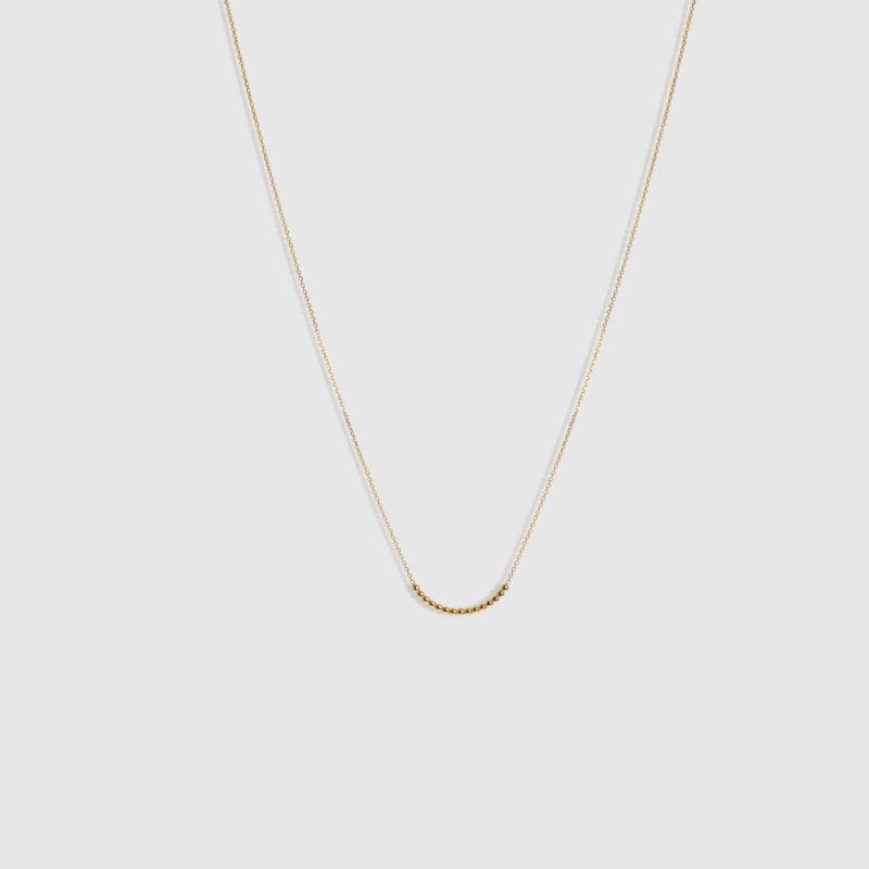 Collar oro amarillo 18 quilates