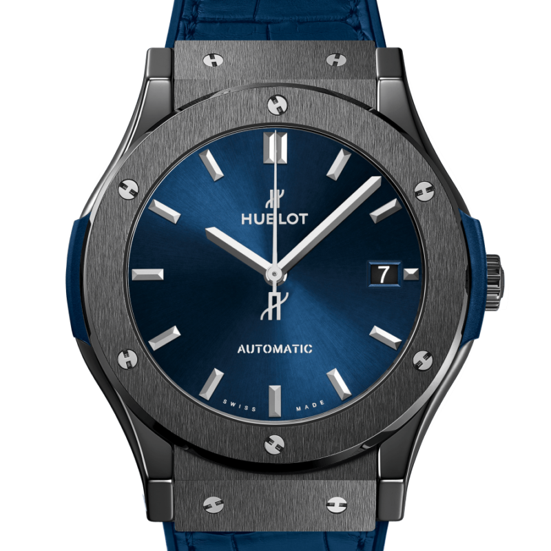 CLASSIC FUSION CERAMIC BLUE 45mm