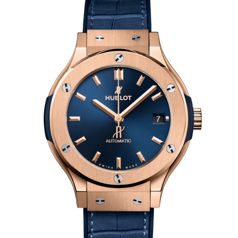 CLASSIC FUSION KING GOLD BLUE 38mm