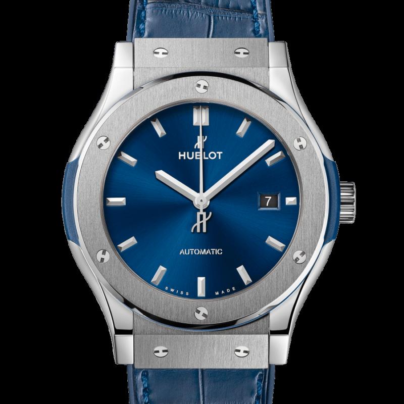CLASSIC FUSION TITANIUM BLUE 42mm