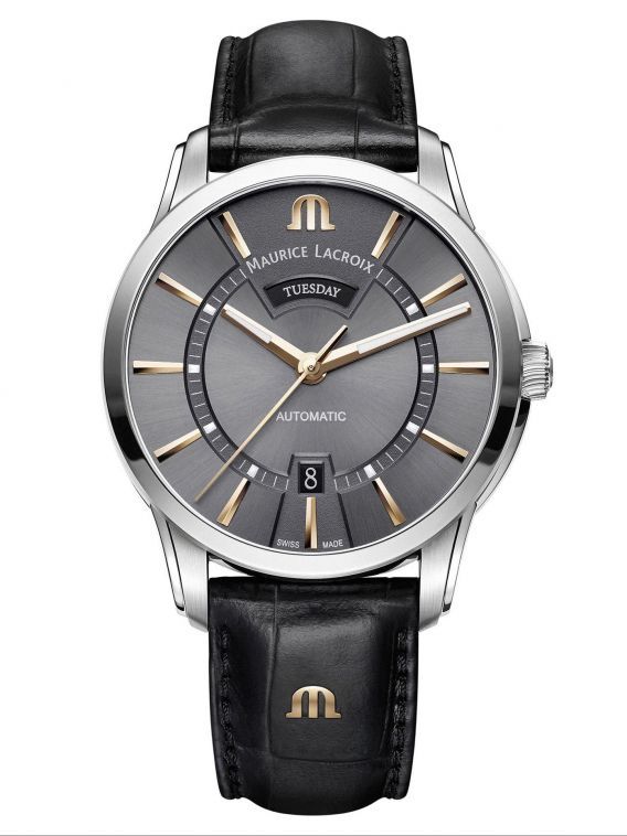 MAURICE LACROIX PONTOS Day Date 41mm PT6358-SS001-331-1