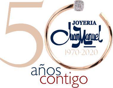 50 AÑOS CONTIGO - Joyería Juanmanuel Granada